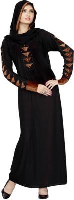 Saree Exotica AB14090 Lycra Printed Abaya No