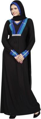 Saree Exotica AB14030 Lycra Printed Abaya No