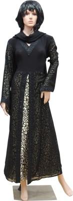 Shamim Collection FKBQ01002 lycra Solid Abaya Yes