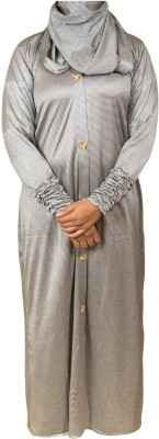 Just Khatoon ABA001MO Mixed Cotton and Polyester Abaya No