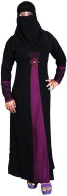 Hawai WB00040 Lycra Self Design Burqa Yes