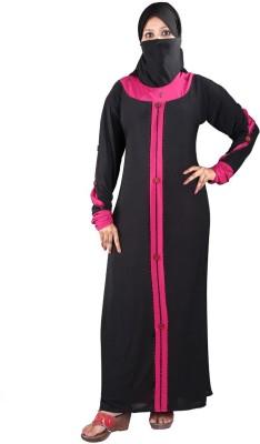 Hawai WB100 Lycra Self Design Burqa Yes