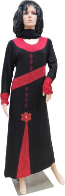 Shamim Collection FKBQ01011 lycra Solid Abaya Yes