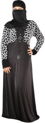 Hawai WB00160 Polyester Self Design Burqa Yes