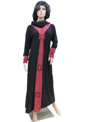Shamim Collection FKBQ01015 lycra Solid Abaya Yes