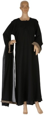 Hijab Studio HSBCRS061 Nida Solid Burqa Yes