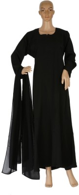 Hijab Studio HSBPB060 Nida Solid Burqa Yes