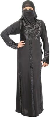 Hawai WB00269 Lycra Self Design Burqa Yes