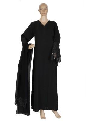Hijab Studio GSBNLa056 Nida Solid Burqa Yes