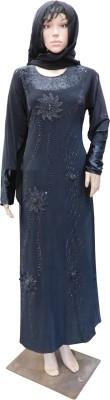 Shamim Collection FKBQ01022 Lyckra Solid Abaya Yes
