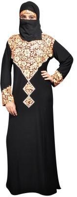 Hawai WB115 Lycra Self Design Burqa Yes