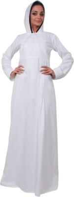 Islamic Attire Insha Cotton Twill Solid Abaya No