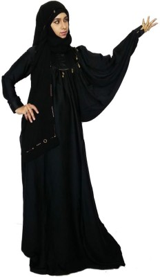 Pehnawa One Side Bahraini Polysatin Abaya No