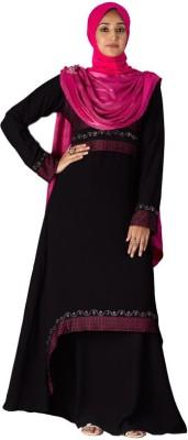 Parvin 3125XXL georgette, polyester Self Design Burqa No