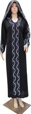 Shamim Collection FKBQ01027 Crepe Self Design Abaya Yes