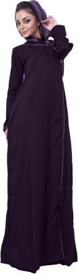 Islamic Attire AB_ISA_0023 100% Cotton Twill Solid Abaya No