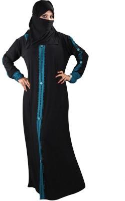 Hawai WB99 Lycra Self Design Burqa Yes