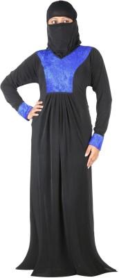 Hawai WB00150 Polyester Self Design Burqa Yes