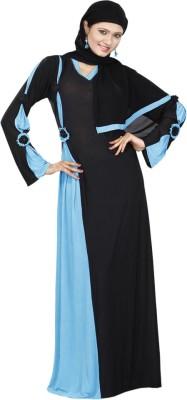 Saree Exotica AB13300 Lycra Printed Abaya No