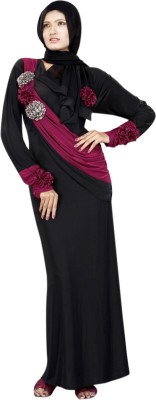 Saree Exotica AB13220 Lycra Printed Abaya No