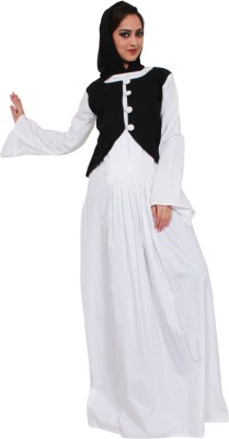 Islamic Attire nisha Cotton Solid Abaya No