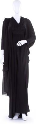 Hijab Studio HSB009SOA Jersey Solid Abaya Yes