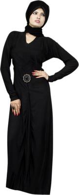 Saree Exotica 14520 Lycra, Crepe Self Design Abaya Yes