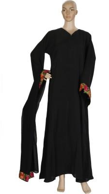 Hijab Studio HSBERO052a Nida Solid Burqa Yes