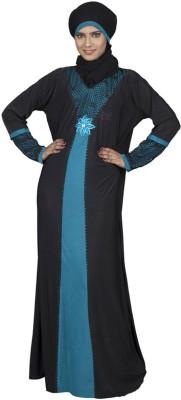 Hawai WB00039 Lycra Self Design Burqa Yes