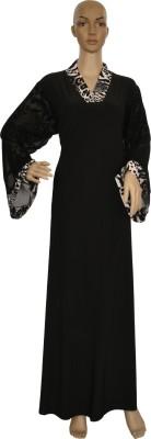 Hijab Studio HSBWBC048 Imported Jersey Animal Print Burqa Yes