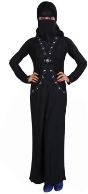 Hawai WB00062 Lycra Self Design Burqa Yes