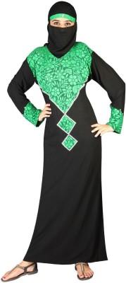 Hawai WB116 Lycra Self Design Burqa Yes