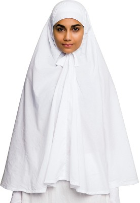 Haji Ladies Ihram 100% Cotton Solid Abaya Yes