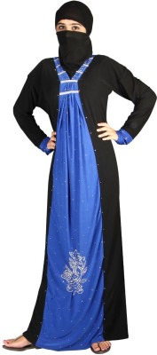 Hawai WB111 Lycra Self Design Burqa Yes