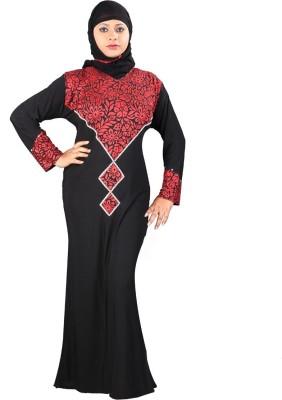 Hawai WB00084 Lycra Self Design Burqa Yes