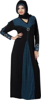 Saree Exotica AB14320 Lycra Printed Abaya No