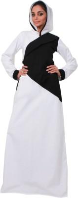 Islamic Attire kiswar Cotton Twill Solid Abaya No