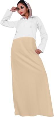 Islamic Attire AB_ISA_0018 100% Cotton Twill Solid Abaya No
