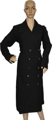 Hijab Studio HSBDBK044 Poly Spun Solid Burqa No