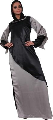 Islamic Attire Zuhera Satin Solid Abaya No