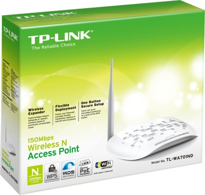 TP-LINK TL-WA701ND 150Mbps Wireless N Access Point