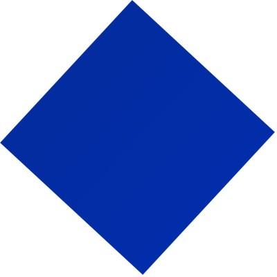 ZakTag Plexi Glass SATIN BLUE 30.5 cm Acrylic Sheet