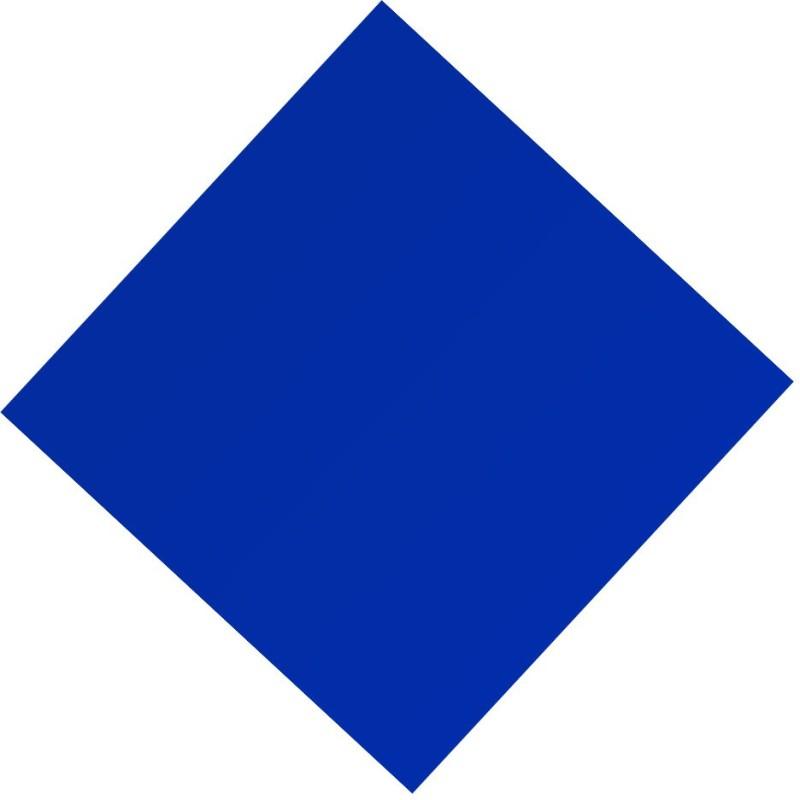 ZakTag Plexi Glass SATIN BLUE 30.5 cm Acrylic Sheet(0.2 cm)