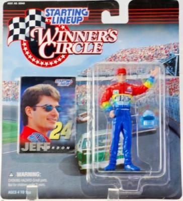 Starting Line Up 1997 Hasbro Starting Lineup Winner,S Circle Jeff Gordon