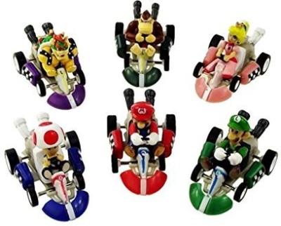 BP Mario Kart Cars Pull Backs Set