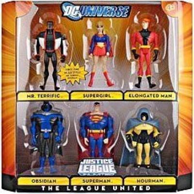 Justice League Dc Universe Unlimited Exclusive 6Pack The League United