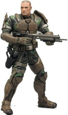 Mcfarlane Toys Action Figure - Halo 3 Series 7 - SGT. FORGE