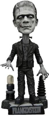 NECA Universal Monsters Frankenstein Black And White Head Knocker