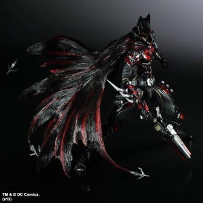 Square Enix Dc Comics Variant Play Arts Kaikai Batman Limited Color