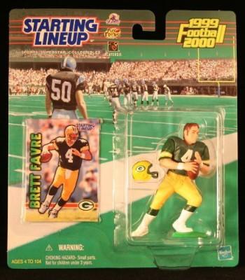 Starting Line Up Brett Favre / Green Bay Packers 19992000 Nfl Starting